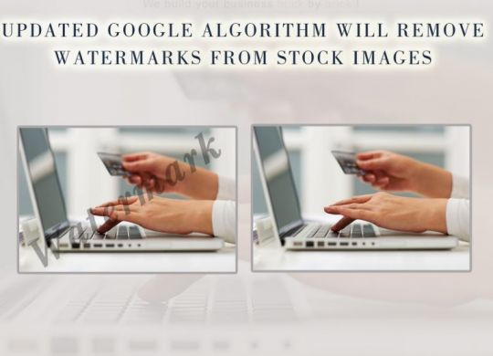 Updated Google Algorithm will remove Watermarks from Stock Images