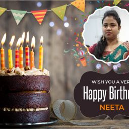 Happy Birthday Neeta !