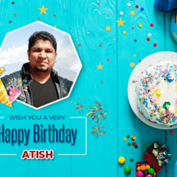 Happy Birthday Atish !!!