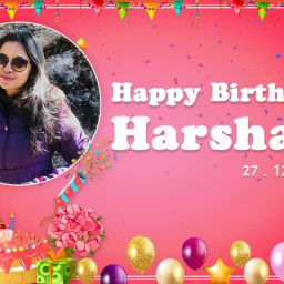 Happy Birthday Harshali
