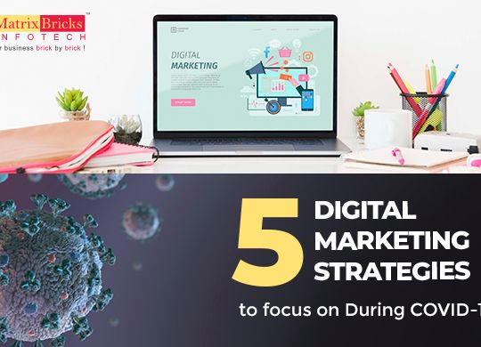 5 Digital Marketing Strategies to focus on During COVID-19